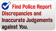 Police Report Errors on your DUI report in Ohio